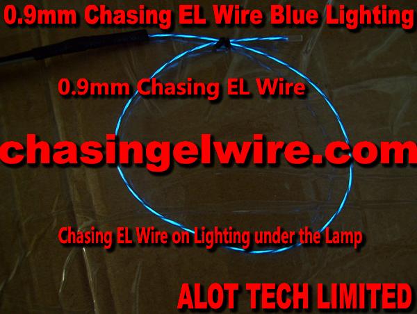 0.9mm flowing el wire
